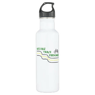 Bike the Natchez Trace Water Bottle