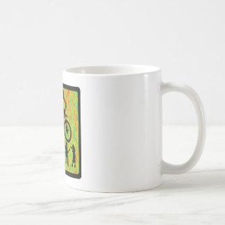 Bike The Strider Classic White Coffee Mug