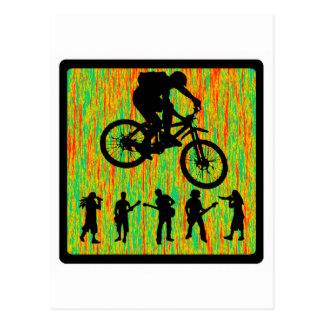 Bike The Strider Postcard