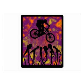 Bike The Voyager Postcard