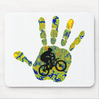 Bike This Brush Mouse Pad