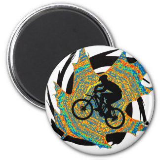 Bike Upper Ontario 2 Inch Round Magnet