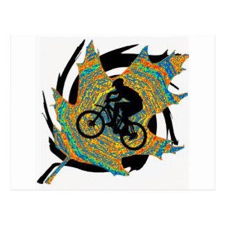 Bike Upper Ontario Postcard