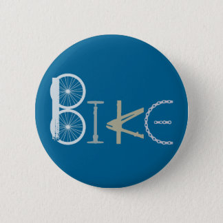 Bike Words from Bike Parts Bicycle Sports fan 2 Inch Round Button