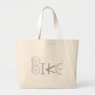 Bike Words from Bike Parts Bicycle Sports fan Jumbo Tote Bag