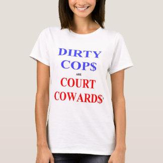 """Bikeman's """"Court Cowards"""" t-shirt (women's)"""