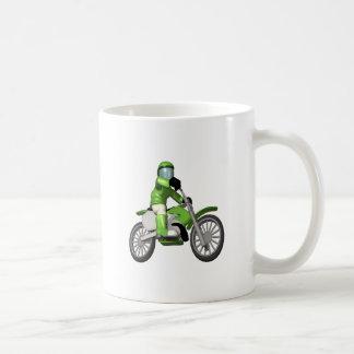 Biker 3 classic white coffee mug
