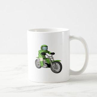 Biker 8 classic white coffee mug