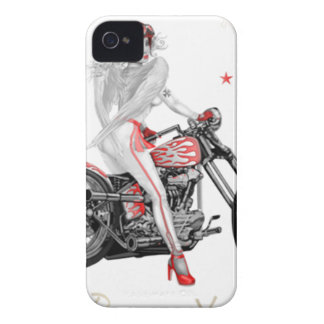 Biker Angel T-Shirt Case-Mate iPhone 4 Case