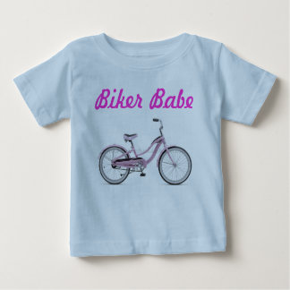 Biker Babe - and Proud of it! Baby T-Shirt