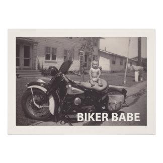 biker babe photograph