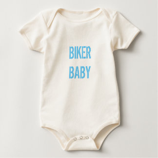 BIKER BABY BABY BODYSUIT