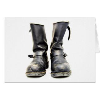 Biker Boots Card