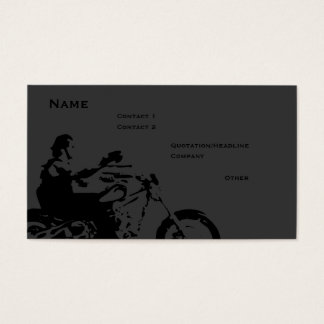 Biker Business Card