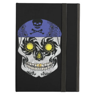 Biker Candy Skull Ipad Air Case