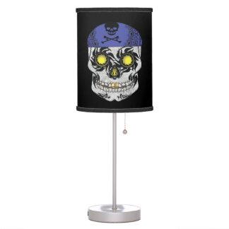 Biker Candy Skull Lamp