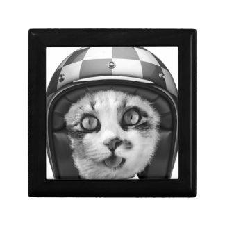 Biker cat T-Shirt Gift Box