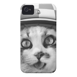 Biker cat T-Shirt iPhone 4 Cover