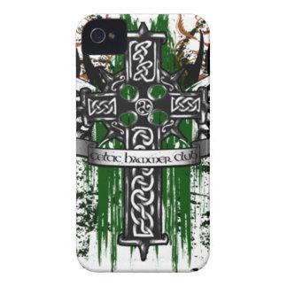 Biker Celtic Cross T-Shirt Case-Mate iPhone 4 Case