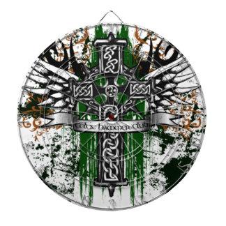 Biker Celtic Cross T-Shirt Dartboard