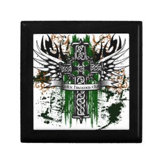 Biker Celtic Cross T-Shirt Gift Box