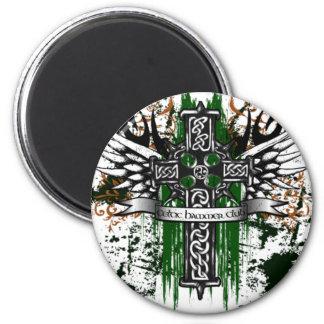 Biker Celtic Cross T-Shirt Magnet