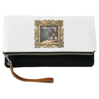 """Biker Chic"" Clutch Purse for All Things Necessary"