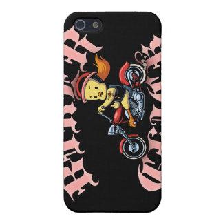 Biker Chick II iPhone 5 Cases