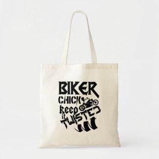 Biker Chick Keep It Twisted Tote