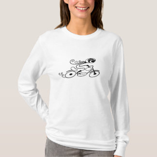 """BIKER CHICK"" Mary Ford T-Shirt"
