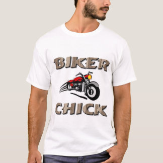 Biker Chick Rider T-Shirt