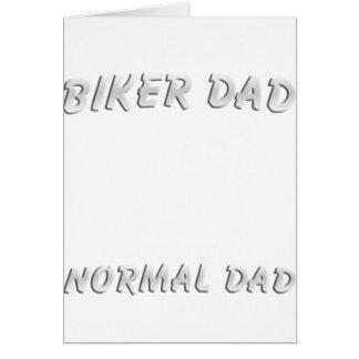 Biker DAD T-Shirt Card