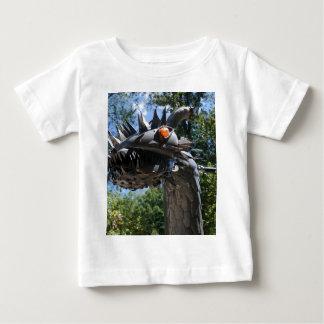 Biker Dragon Baby T-Shirt