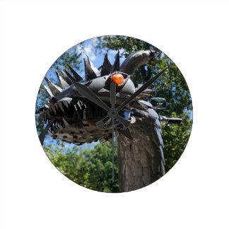 Biker Dragon Clock