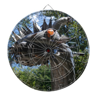 Biker Dragon Dartboard