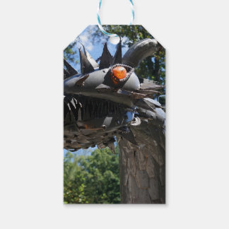 Biker Dragon Pack Of Gift Tags