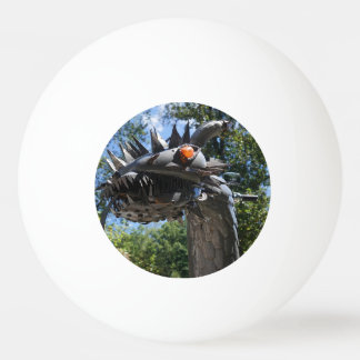 Biker Dragon Ping-Pong Ball