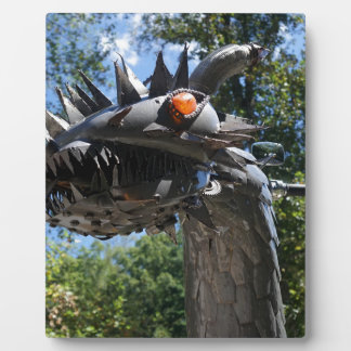 Biker Dragon Plaque