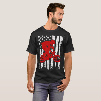 BIKER FLAG AMERICAN T-Shirt