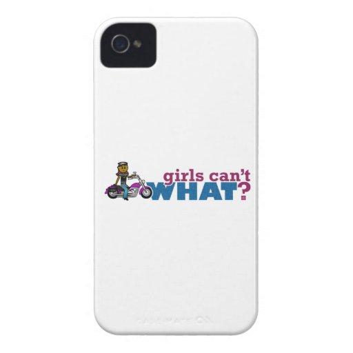 Biker Girl Case-Mate Blackberry Case