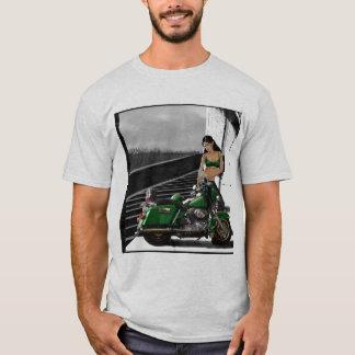 Biker Girls Ride Hard T-Shirt