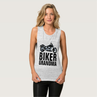 BIKER GRANDMA T-shirts, Motorcycle Tank Top