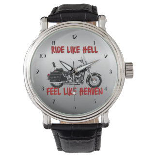 Biker Heaven Motorcycle Wrist Watch