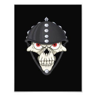 Biker Helmet Skull design for Motorcycle Riders Photo
