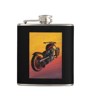biker hip flask