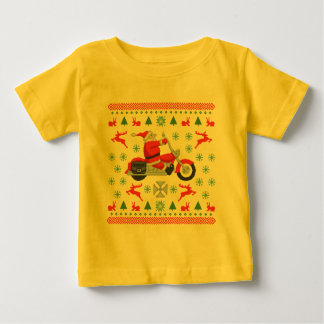 Biker Holiday Sweater Tees