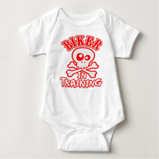 Biker In Training Baby Bodysuit