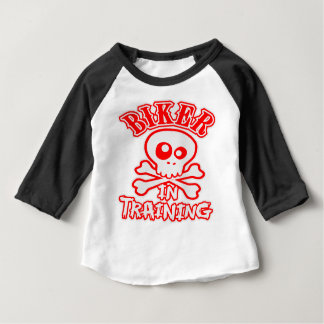 Biker In Training Baby T-Shirt