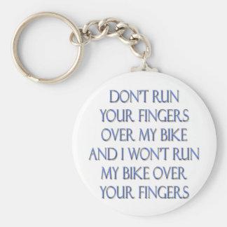 Biker Motorcycle Design Keychain