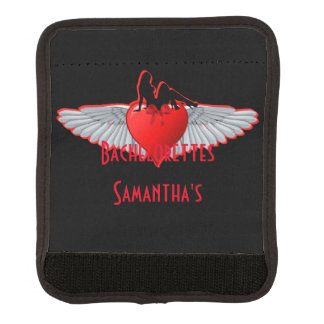 Biker or rock alternative bachelorette luggage handle wrap